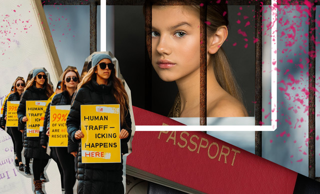 Trafficking στο όνομα του modelling