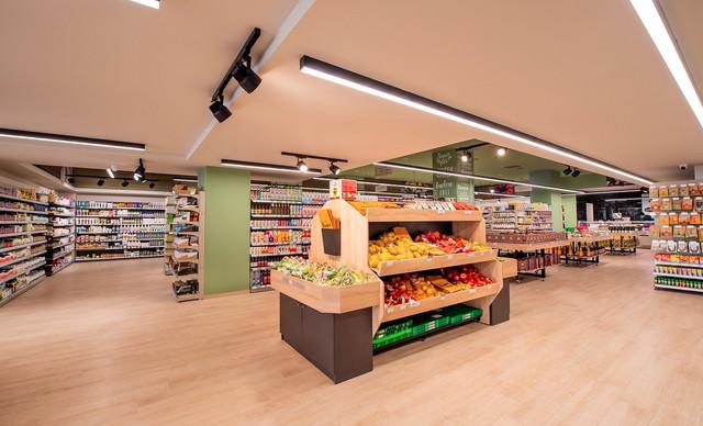 Βιολογικό Χωριό: Ανανεώθηκε το μεγαλύτερο κατάστημα του Δικτύου στο Νέο Ηράκλειο